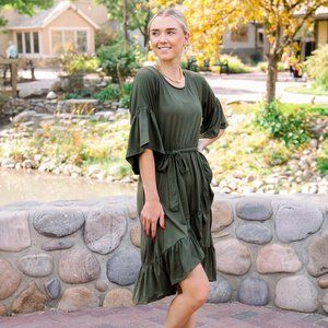 Angie Dress in Green